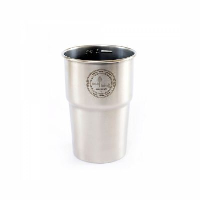 Stainless steel cup from ecoliving pint size