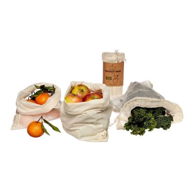 organic produce bags from ecoliving in 3pck