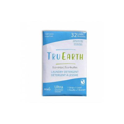 tru earth laundry eco-strips fresh linen